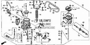 32 Honda Foreman 400 Carburetor Diagram