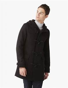 Duffle Coat Homme Celio : duffle coat uni drap de laine double face cuduff celio france ~ Melissatoandfro.com Idées de Décoration