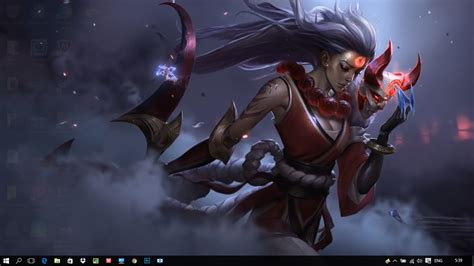 Blood Moon Diana Animated Wallpaper - blood moon diana league of legends wallpaper engine