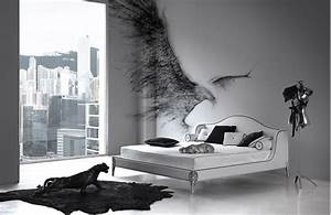 elegant black and white bedroom design inspiration digsdigs With black and white bedroom decor