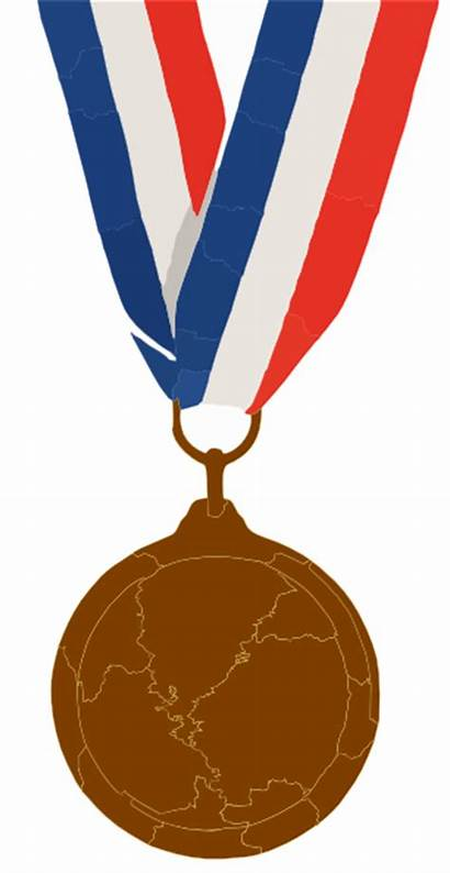Medal Bronze Clipart Clip Medallion Sculpture Vector