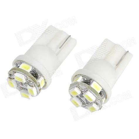 t10 1210 8 led vehicle decoration signal white l bulbs