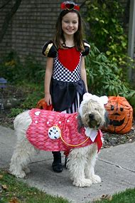 Family and Dog Halloween Costumes