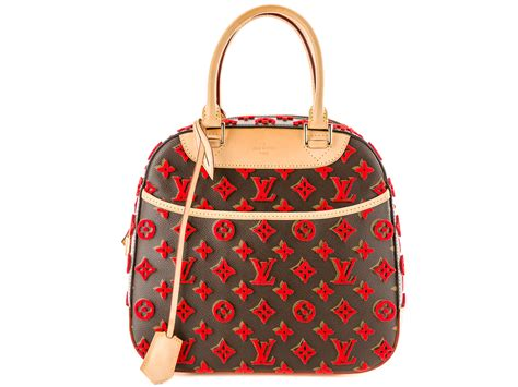 Preowned Louis Vuitton Deauville Tufting Bag