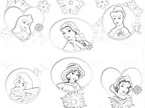 All Disney Princesses Coloring Pages