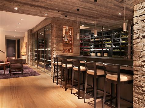 Home Wine Bar Images by Wine Bar Design For Home Wine Cellar Contemporary With