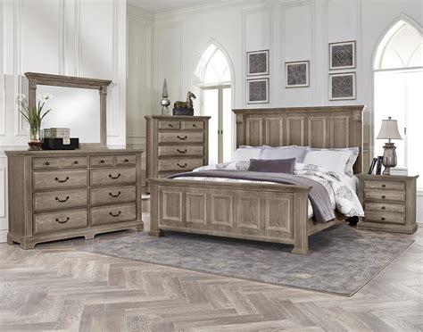 Bassett Vaughan Bedrooms by Vaughan Bassett Woodlands King Bedroom Belfort