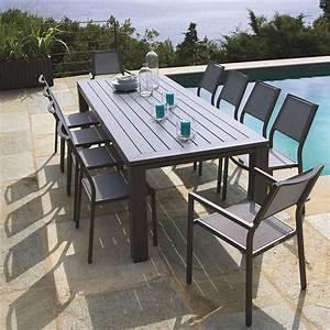 Table De Jardin Solde : table de jardin pas cher auchan ~ Teatrodelosmanantiales.com Idées de Décoration