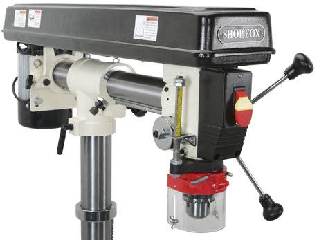 Floor Standing Radial Drill Press by Shop Fox Radial Drill Press
