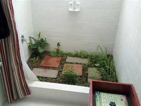 furniture kitchen storage garden in the shower a moss bathmat