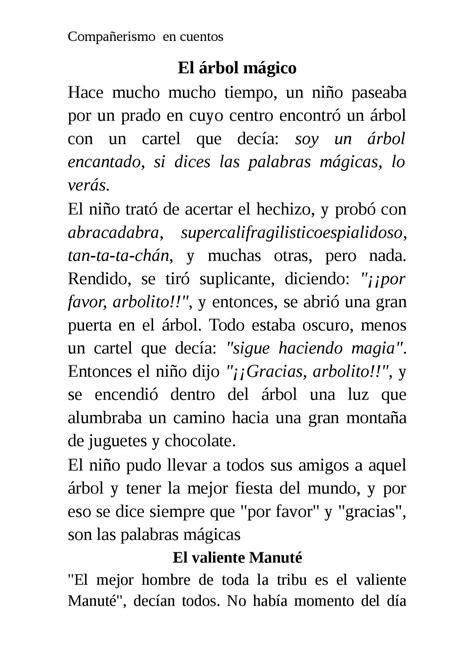 Calaméo - Compañerismo en cuentos