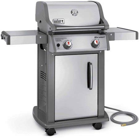weber spirit s 210 gas grill stainless steel