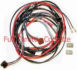 1972 1973 1974 Corvette Power Window Wiring Harness