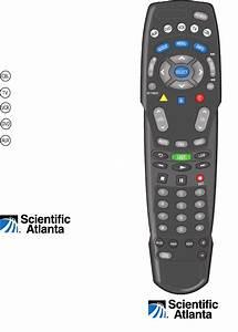 Scientific Atlanta Universal Remote At8550tm User Guide
