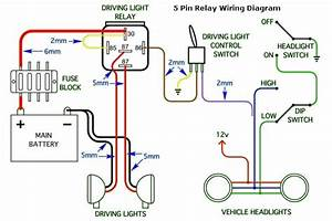 Off Road Lights Wiring Diagram For Relays