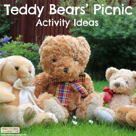 teddy bear ears craft tea time monkeys