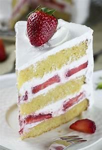 Strawberry Shortcake Cake   Chocolate Dessert Recipes ...