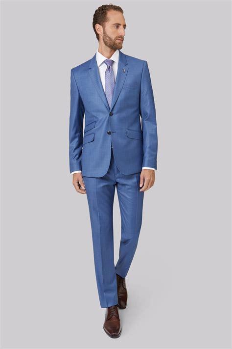 light blue suit ted baker tailored fit light blue sharkskin endurance suit