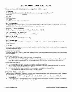 free lease rental agreement forms ez landlord forms With renters contract template free