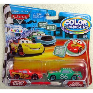 color changer cars disney pixar cars 155 colour changers 2pack