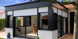 Que Mettre Sur Le Toit D Une Pergola : veranda bioclimatique le confort d 39 une v randa en t et en hiver ~ Melissatoandfro.com Idées de Décoration