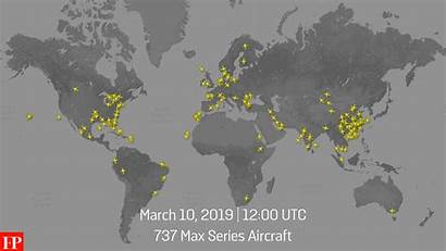 Max Series Went Wheels Down Flight Aircraft