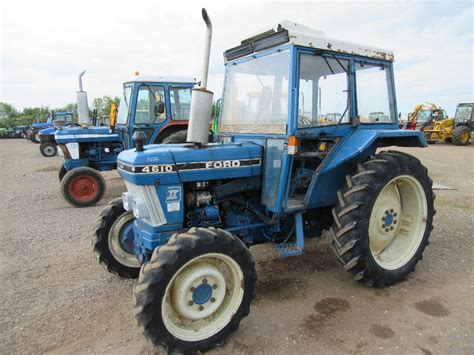 Ford 4610 4x4 Tractor Ap Cab