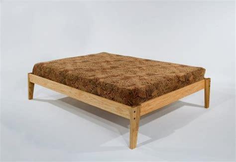 Solid Oak Wooden Platform Bed Frame-beautiful