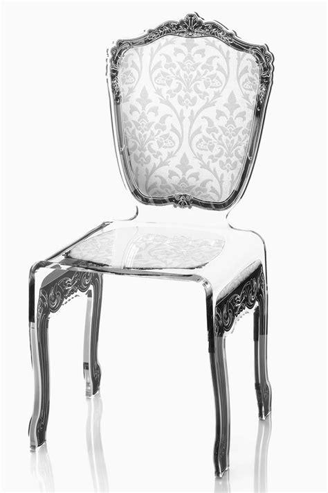 chaise plexi transparente chaise plexiglass