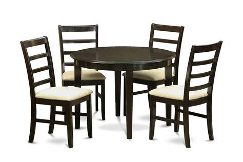 round kitchen table sets for 4 boston 5 pieces small kitchen table set round kitchen