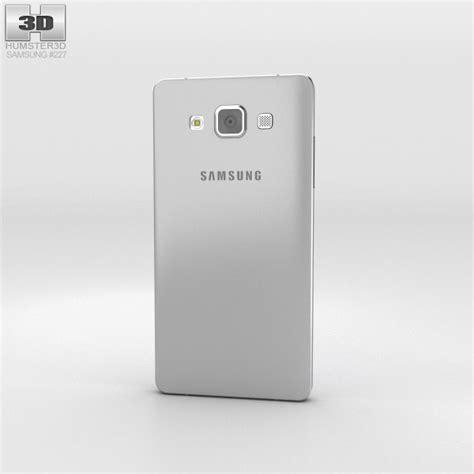 samsung galaxy a3 platinum silver 3d model electronics