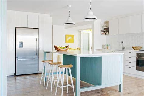 coastal inspired kitchens coastal sydney house kitchen renovation homes 2271