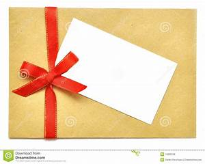 letter with red ribbon royalty free stock image image With letter with ribbon