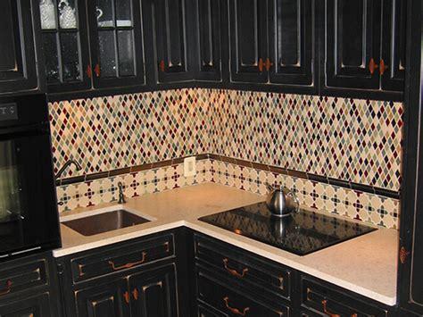 Tile Bench by Diamond Backsplash Eclectic Kitchen Portland By