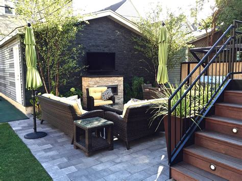 Backyard Patios by Chicago Roof Decks Pergolas And Patios Rooftops