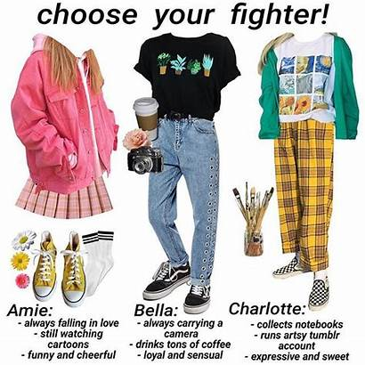 Aesthetic Outfits Clothes Niche Choose 90s Memes