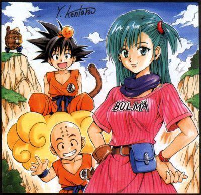 dbz ilustraciones mangakas