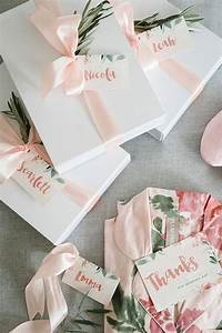 10 things to do on your wedding morning robe ivory and box With wedding gifts for bridesmaids
