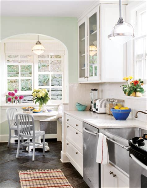 country kitchen decorating ideas on a budget breakfast nook ideas 9829