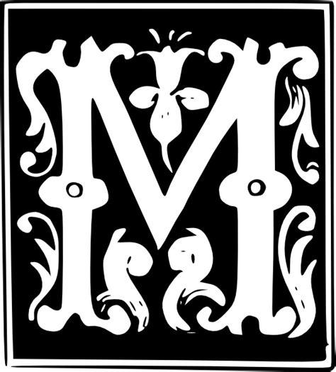 decorative letter set  clip art  clkercom vector clip art  royalty  public domain