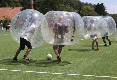 Welcher sender überträgt welches spiel? Die neue Trendsportart! - Bubble Soccer Ball mieten