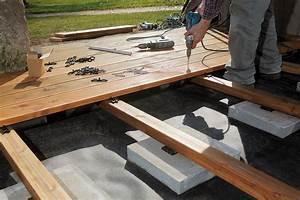 Construire Un établi En Bois : construire une terrasse en bois toutes les tapes ~ Premium-room.com Idées de Décoration