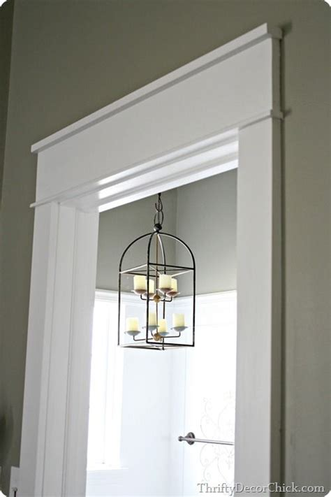 love chunky trim craftsman door farmhouse trim
