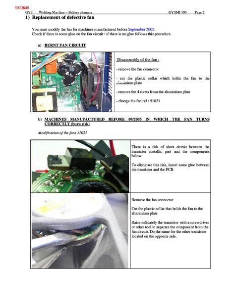 gysmi 190 inverter sm update service manual download schematics eeprom repair info for