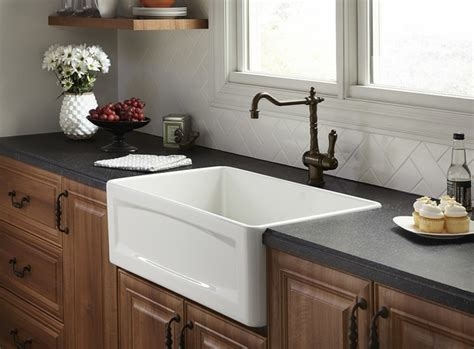 Orchard Apron Sink-traditional-kitchen Sinks-by Dxv