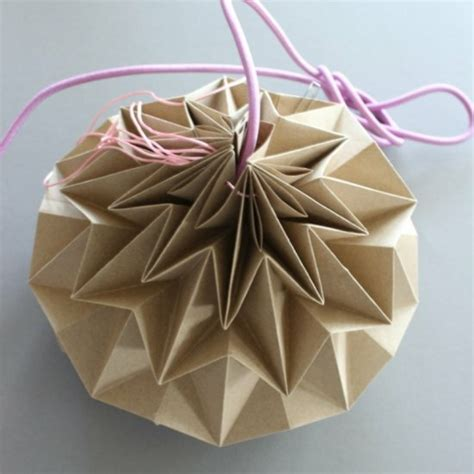 abat jour origami diy obasinc
