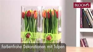 Tulpen Im Topf In Der Wohnung : farbenfrohe dekoration mit tulpen youtube ~ Buech-reservation.com Haus und Dekorationen