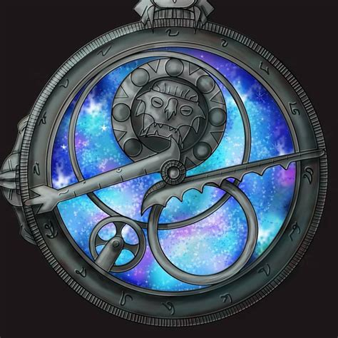 inktober   clock  redrawed   versions