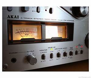 Akai Gx-635db - Manual - Stereo Tape Recorder
