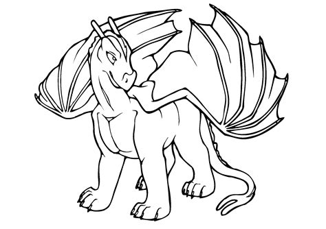 printable dragon coloring pages easy adults print color craft